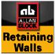 Mur oporowy AB aplikacji